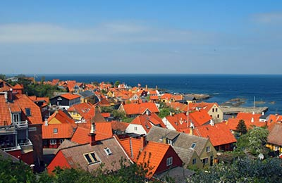 Veerboten naar Bornholm