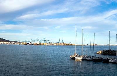 Ferry haven Santa Cruz de La Palma