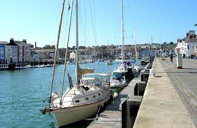 Ferry haven Alderney
