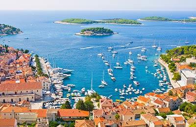 Veerboten naar Kroatie