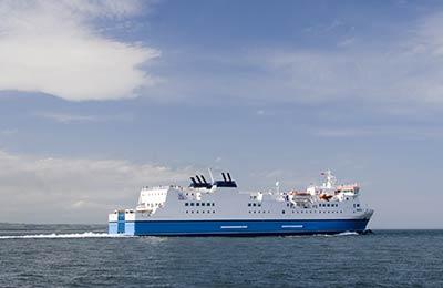 Ferry haven Leros