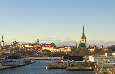 Veerboten naar Estland