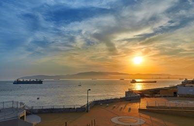 Ferry haven Gibraltar