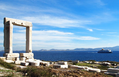 Donoussa naar Piraeus