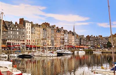 Veerboten naar Normandie