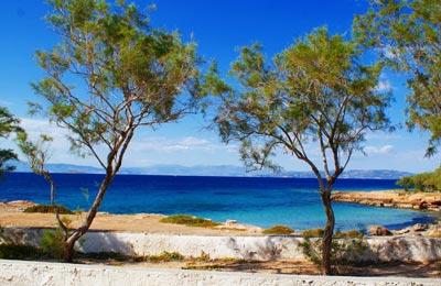 Ferry haven Aegina