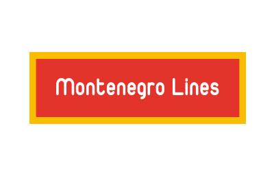 Boek Montenegro Lines snel en gemakkelijk