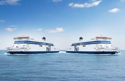 Vind hier goedkope tarieven voor P&O Ferries (North Sea) Ferries