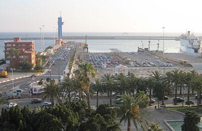Ferry haven Almeria