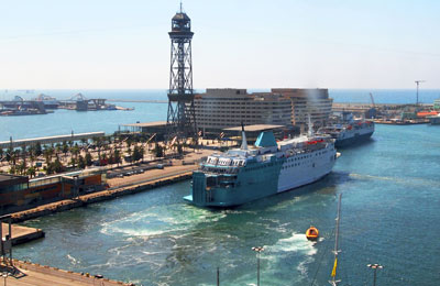 Ferry haven Barcelona